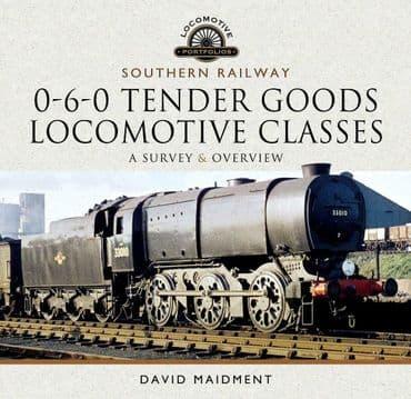 SOUTHERN RAILWAY, 0-6-0 TENDER GOODS LOCOMOTIVE CLASSES ISBN: 9781526770097